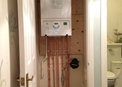 Bev cook, boiler upgrade