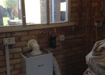 Christine Loxley, Boiler upgrade
