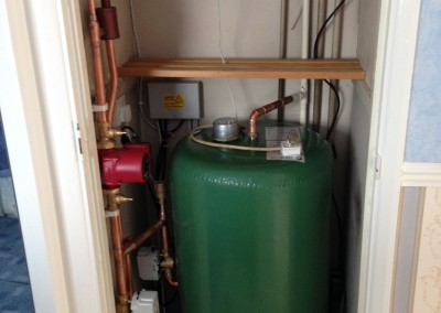 Christine Loxley, New cylinder and 's' plan heating controls