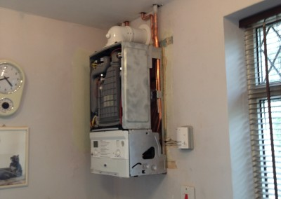 Mitchell Mayling, Boiler Upgrade